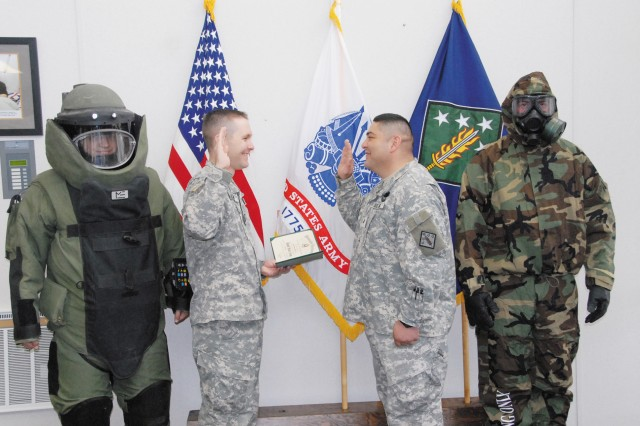 NCO reenlistment captures essence of CBRNE Command