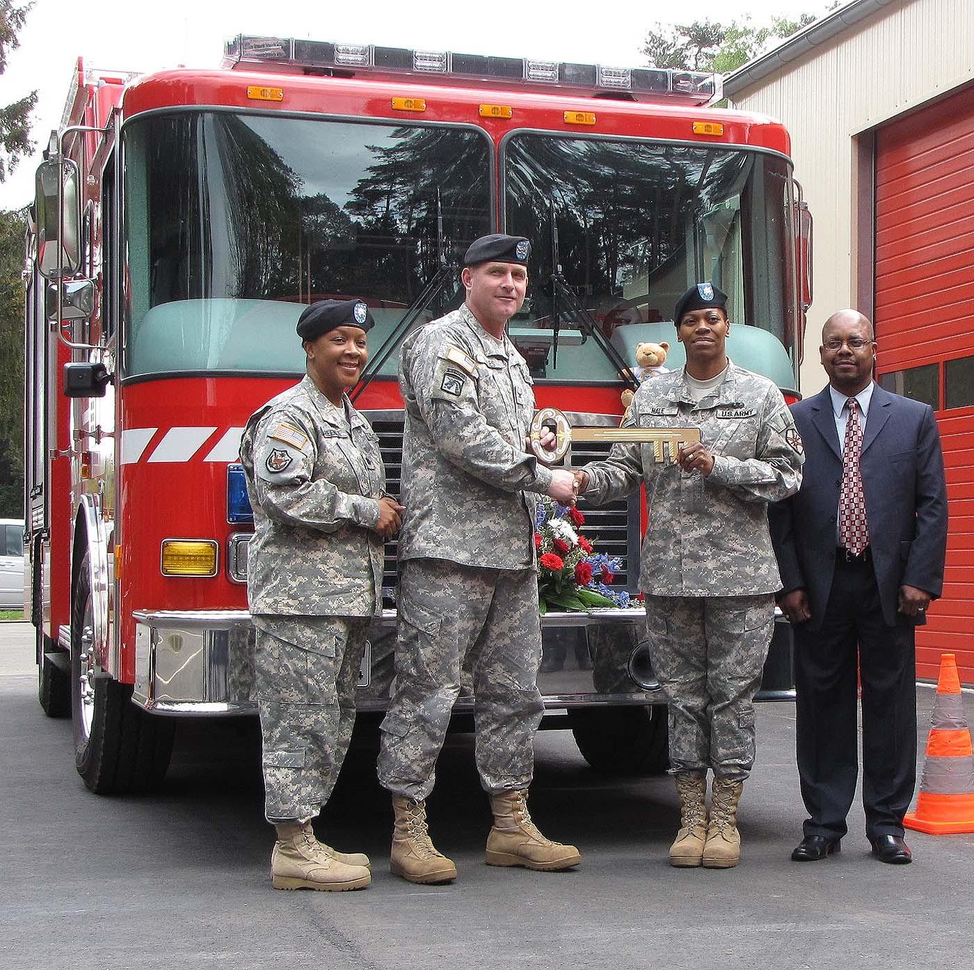 Usag Kaiserslautern Receives Revamped Fire Trucks