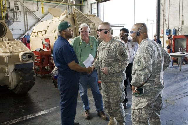 AMC CSM meets with depot workforce