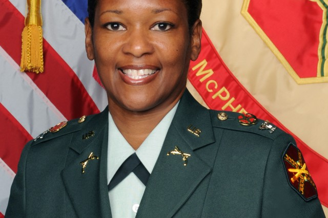 Col. Deborah B. Grays, Garrison Commander,
