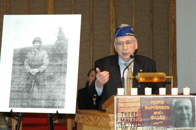 Veteran recalls Holocaust memories, tells us to never forget