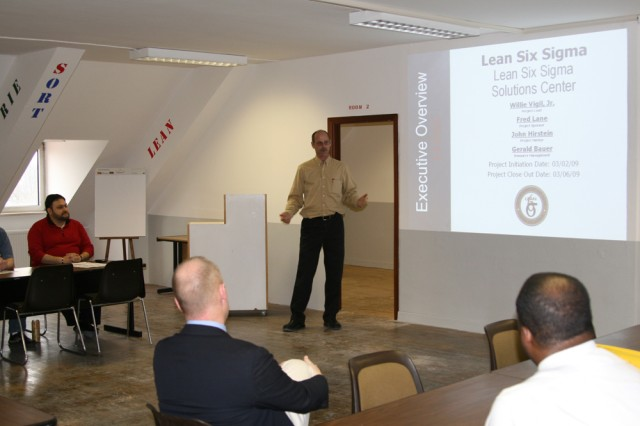 Ansbach delivers new Lean Six Sigma training room