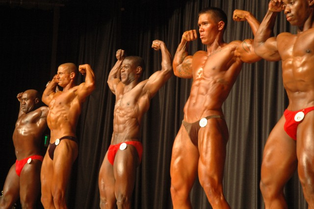 The best bodybuilders from the Army, Navy, Air Force and Marines gathered in Hawaii, April 25, for the 26th Annual Armed Forces Hawaii Bodybuilding Championship.