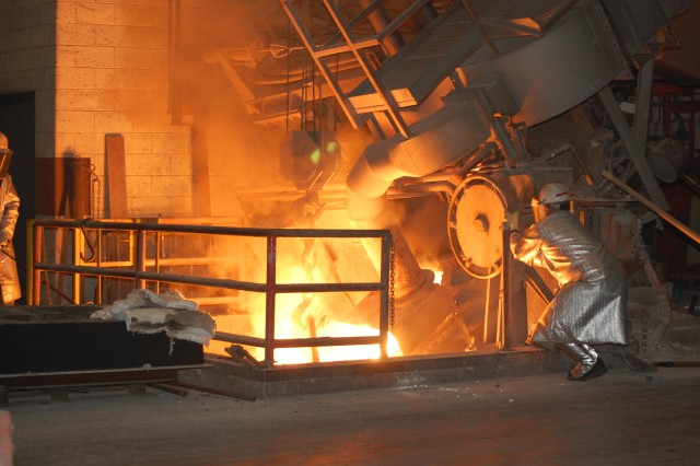 The Joint Manufacturing & Technology Center at Rock Island Arsenal provides essential foundry capability.