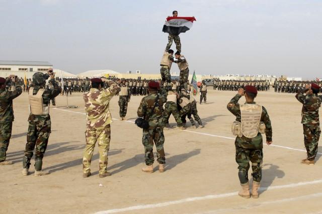 Iraqi Army graduation