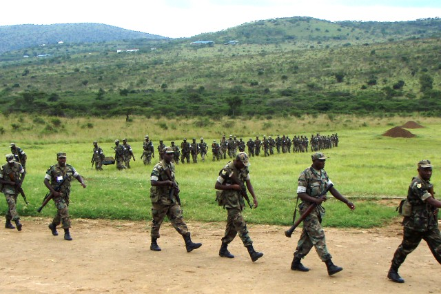 Rwandan soldiers will benefit from upcoming interaction with U.S. and UK NCOs during a leadership program in Gabiro, Rwanda.