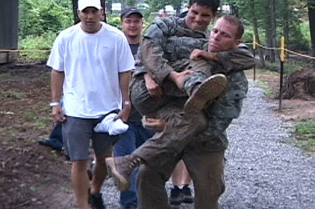 2009 Best Ranger Competition: Day 1