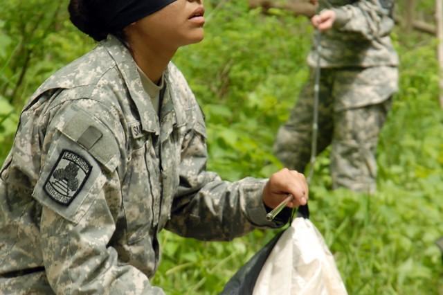 Fort Leavenworth area Junior ROTCAca,!E+teams vie in Raider competition