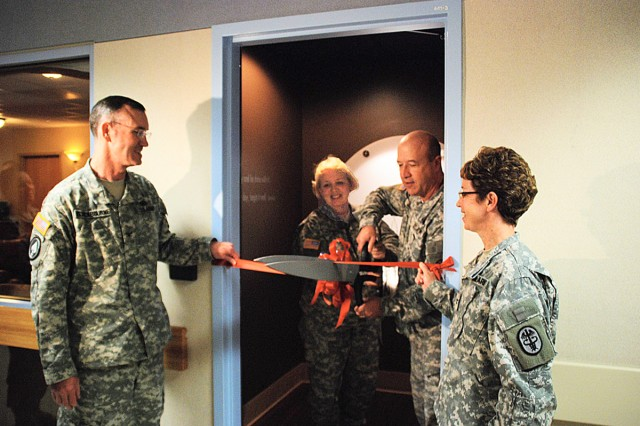 Ribbon Cutting of BAMC\'s Tranquility Room