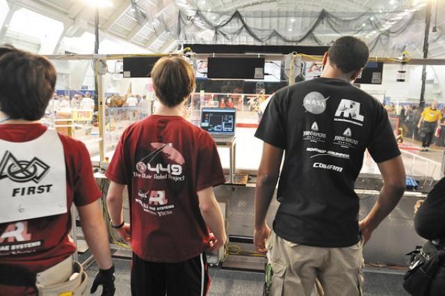 ARL volulnteers sponsor 'FIRST' teams