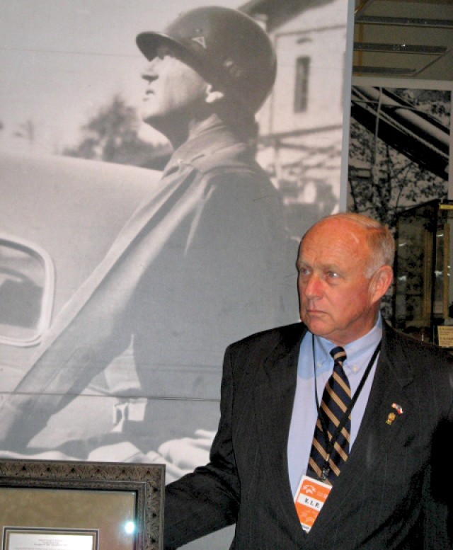 Keeping their legacies alive: George Patton's grandson donates Medal of Honor books to Army libraries