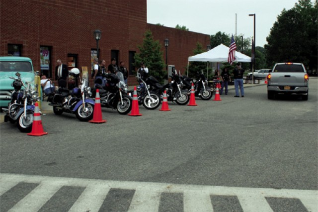 The Newport News American Legion Post 368 Riders displayed its motorcycles in front of the Post Exchange during the Fort Eustis Retiree Appreciation Day Antique Car and Bike Show Saturday. According to retired Navy Senior Chief Petty Officer Jimmy Jones, the director of the Riders, last year the group logged about 54,000 miles and rode to locations as far away as Phoenix.