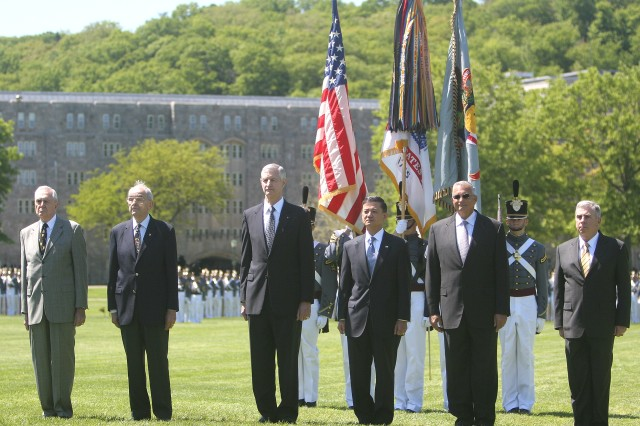 USMA graduates celebrated during alumni exercises