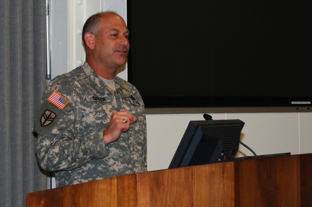 Rock Island Arsenal Joint Manufacturing and Technology Center Commander Col. Craig S. Cotter talks about the history of the apprentice program at the Rock Island Arsenal.