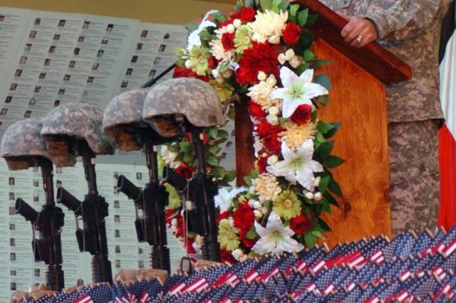 Third Army/USARCENT holds Memorial Day ceremony in Kuwait