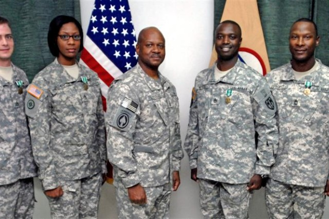 Sustainers selected for Sgt. Audie Murphy Club