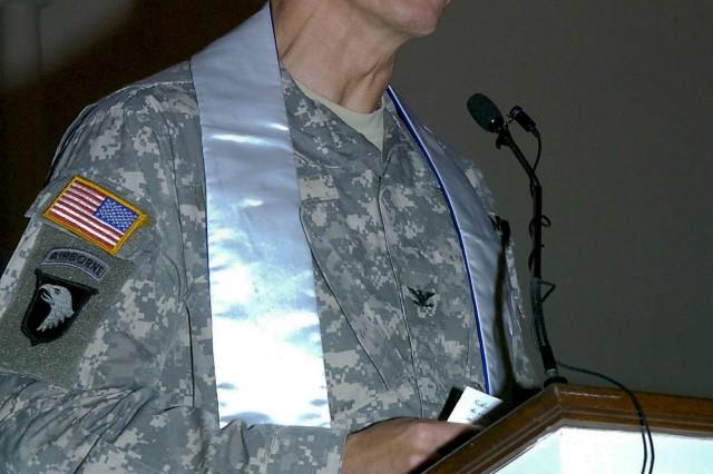 Chaplain Chet Egert