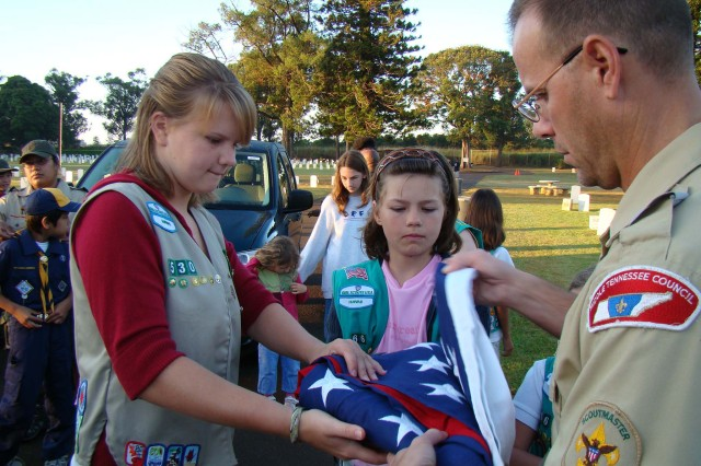 A Scouts 'honor'