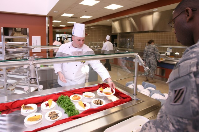 New dining facility at Fort Sill, Okla.