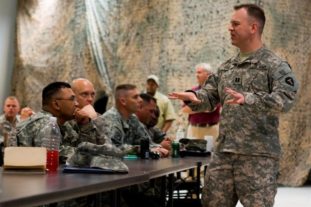 Soldiers discuss future of Iraq medical logistic operations