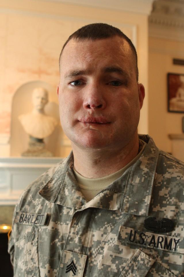 The man in the mirror: Sgt. Robert Bartlett