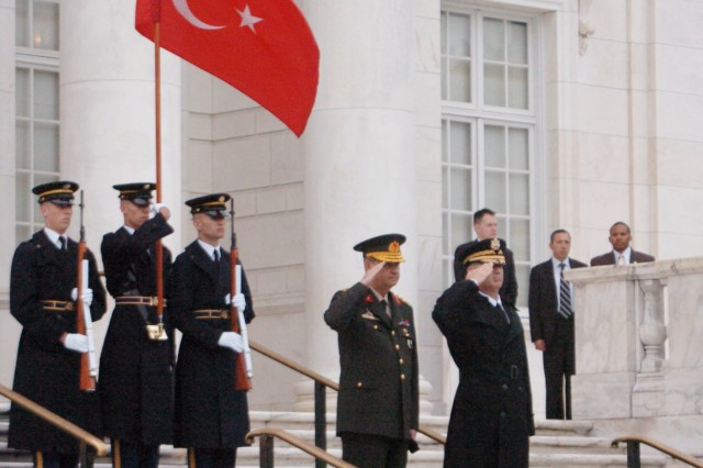 Turkish Chairman of Defense arrives in D.C.
