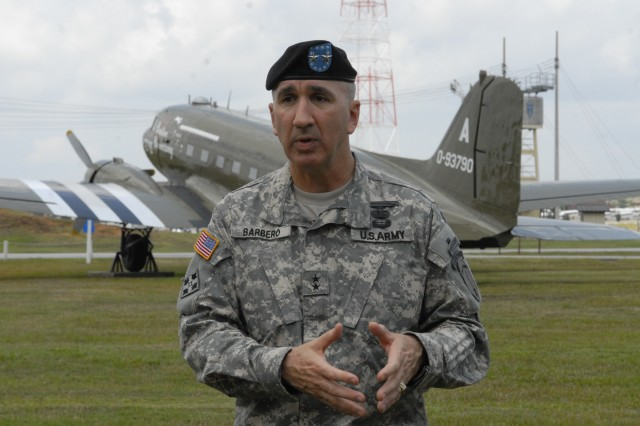 MG Michael Barbero discusses his tenure as the chief of Infantry.