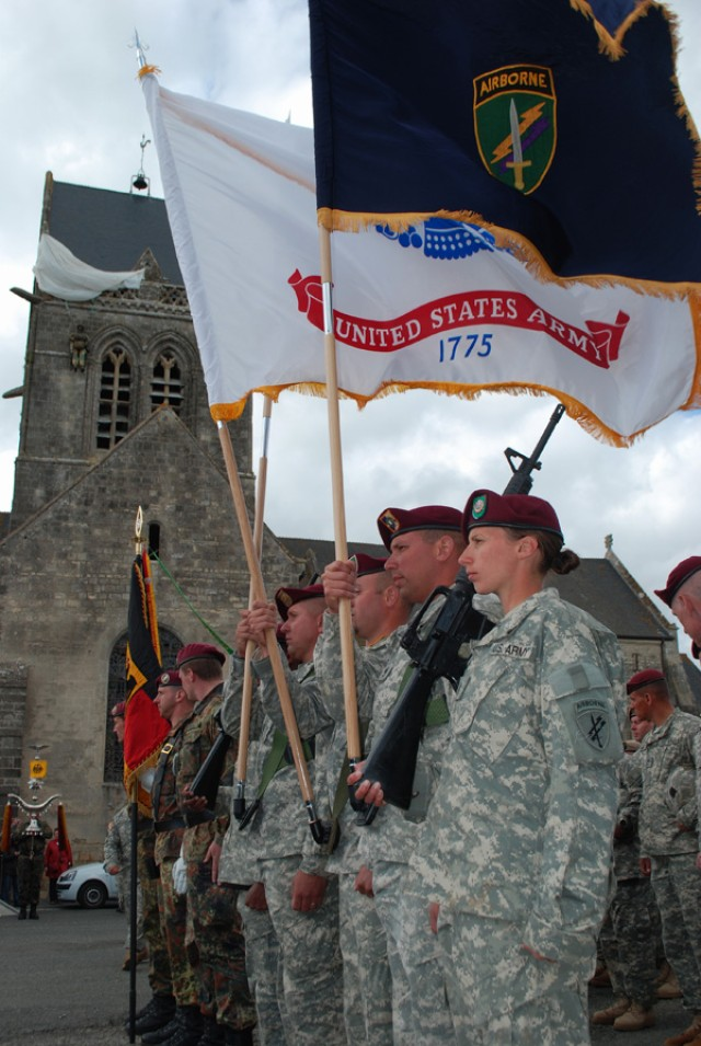 U.S. Army Civil Affairs and Psychological Operations Command D-Day Ceremony