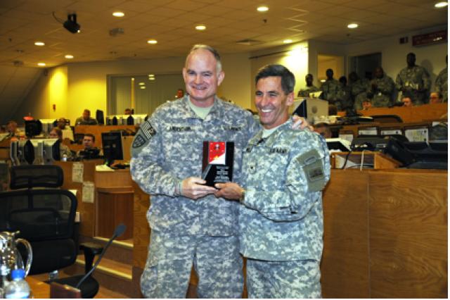 Third Army/U.S. Central wins Safety Award