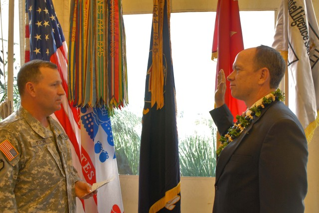 USARPAC civilian workforce climbs as Scofield is promoted to DISL