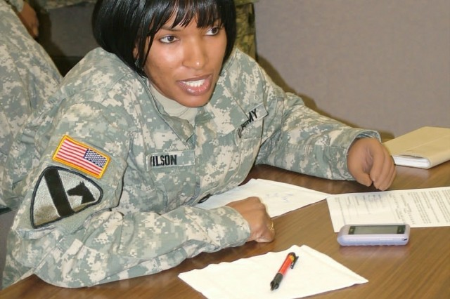 SFC Juanita Wilson, Advocate for Wounded Warriors