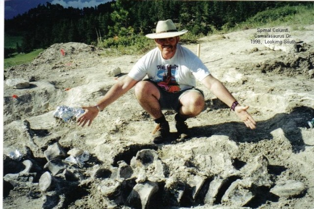 Now retired from a 36-year Army career, John Carnell looks forward to digging up more fun in his avocation as a paleontologist. He has spent many summer vacations in Wyoming and Utah searching for dinosaur bones.