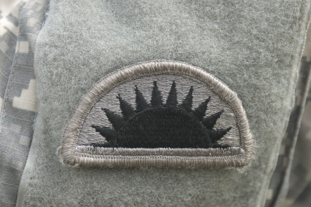The 41st Infantry Brigade Combat Team, from the Oregon National Guard, has a rich history and wears the sunset patch to represent its association with the northwest states where the sun sets. The 41st IBCT is currently in pre-deployment training at Fort Stewart, Ga.,