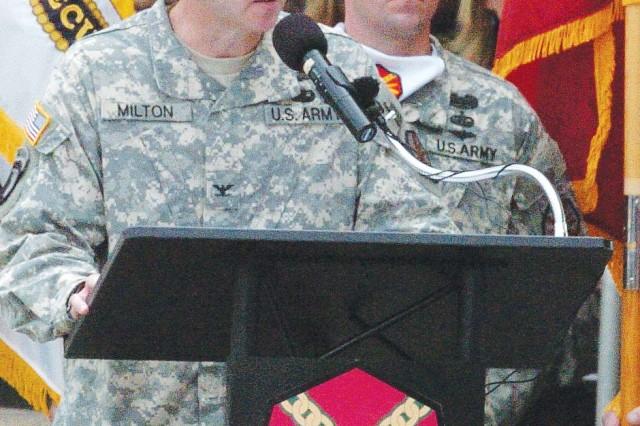 New Fort Stewart Commander