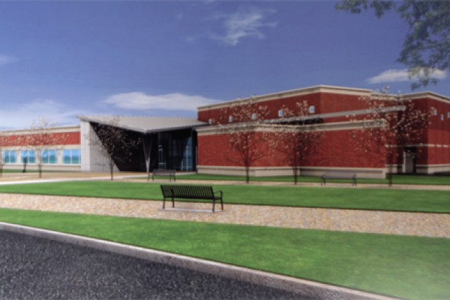The new TRADOC Band facility is a one-story building of approximately 18,841 square feet and will accomodate 66 personnel. The project was awarded to Tompkins-Turner Government Services, in partnership with Michael Baker Jr. Inc. by the Army Corps of Engineers in March. Completion of the project is expected February 2011.
