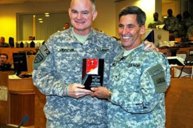 U.S. Army Central wins safety award