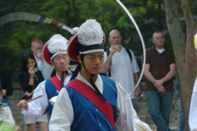U.S. Forces Korea servicemembers visit the Korean Folk Village as a part of the Republic of Korea-United States Friends Forever Program, hosted by the ROK Ministry of National Defense, June 9.