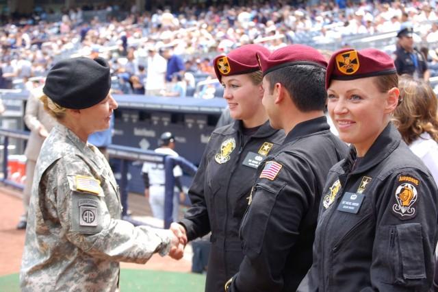 Yankee Stadium's Army Appreciation Day