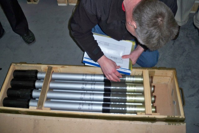 Munitions inspection