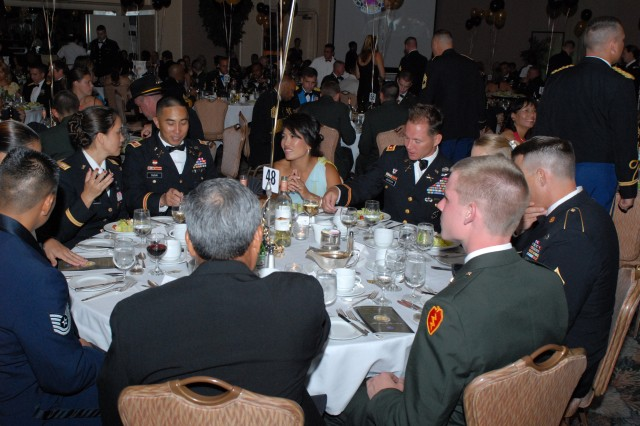 Soldiers, Department of Army Civilians and Family members enjoy each others company during the Army's 234th birthday celebration June 13.