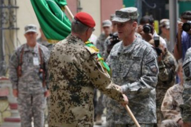 McChrystal assumes command in Afghanistan
