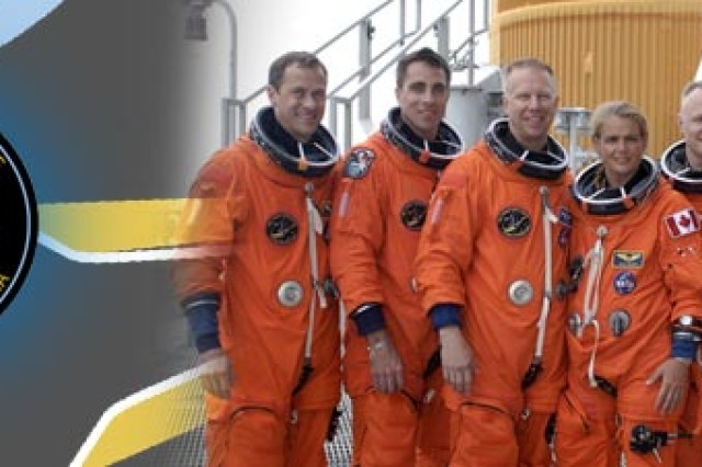 Col. Tim Kopra, (third from the left) Army War College graduate, is scheduled to launch from the Kennedy Space Center July 11, headed for the International Space Station. He will serve on a six-person crew at the International Space Station.