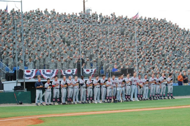 The Greater Columbia Chamber of Commerce hosted 3,600 Soldiers June 6 for Military Appreciation Night at the Columbia Blowfish baseball game.  In honor of the Army's 234th birthday, Soldiers were provided free tickets, hotdogs, cokes, and a fireworks show after the game.
