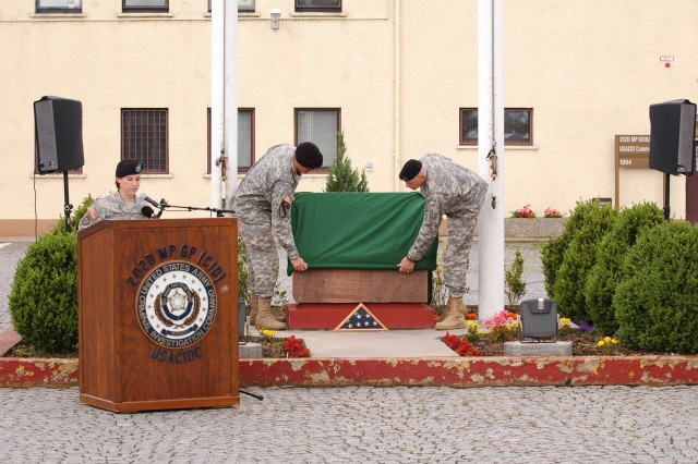 202nd MP Group says farewell to home on Stem Kaserne
