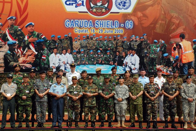 Exercise Garuda Shield 2009 opens in Indonesia