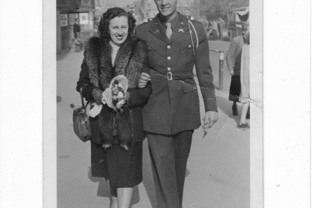 As a young lieutenant serving in occupied Europe, veteran Ralph Cloud met his wife, Gisela, a Czech citizen. The couple have been married for more than 60 years.