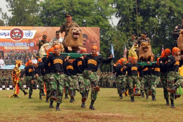 Exercise Garuda Shield 2009 opens in Indonesia