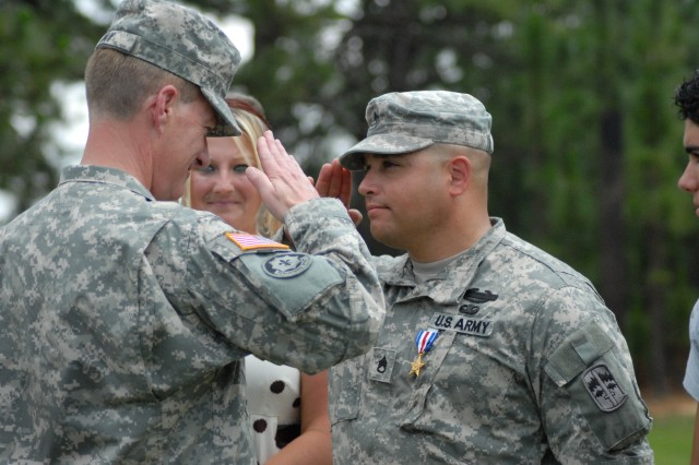 Fort Jackson Soldier earns Silver Star