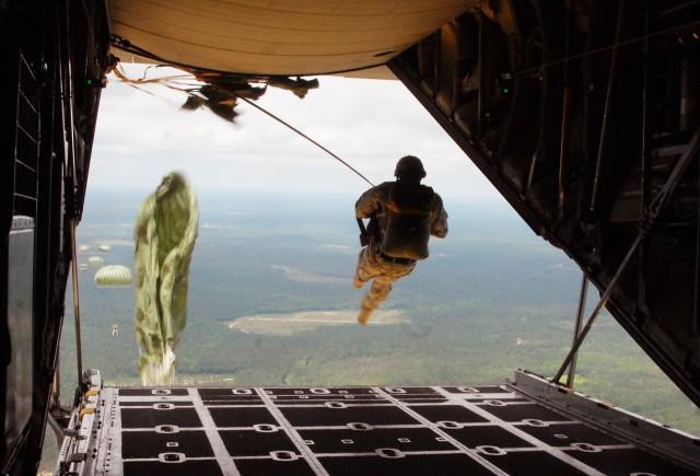 Paratrooper Jump