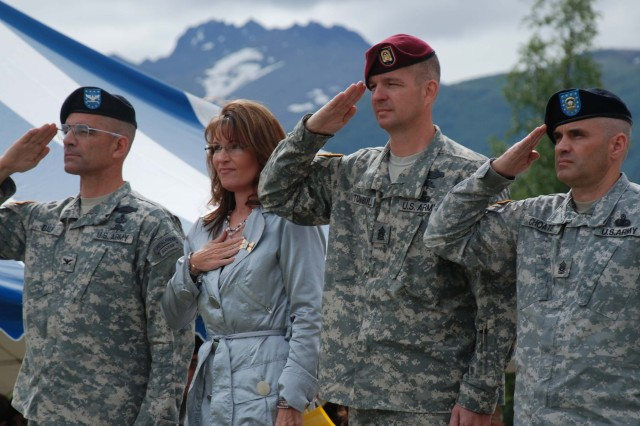 Palin resolves to make 2009 Year of the Noncommissioned Officer in Alaska